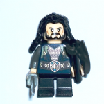 Lego The Hobbit  Thorin Oakenshield - chain mail  minifigure